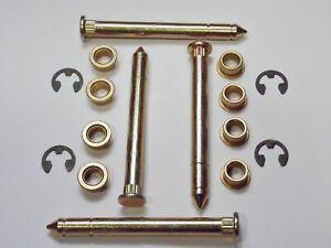 * US SELLER * Ford F150 F250 F350 Bronco Door Hinge Pins Pin Bushing Kit