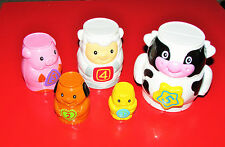 VTECH Nest & Learn Animals REPLACEMENT Stacking ANIMALS SET PARTS NEW
