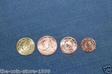1 / 2 / 5 / 10 Euro Cent Belgien 2013 Neu Münzzeichen Kursmünze KATZE KMS ROLLE