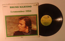 "Bruno Martino ""I remember 1950"" LP OXFORD OX 3166 Italy 1980 VG/G+"