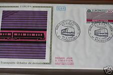 ENVELOPPE PREMIER JOUR FRANCE 1988 TRANSPORTS URBAINS