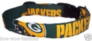 SPIFFY POOCHES Dog Collar GREEN BAY PACKERS ~B.O.G.O @ 50% OFF C DESCRIPTION~