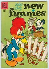 New Funnies #236 October 1956 VG/FN Woody Woodpecker