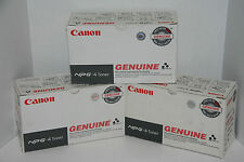Canon NPG-4 Black Toner Cartridge 1375A004AB NP4050 / 4080  Genuine  *LOT OF 3*