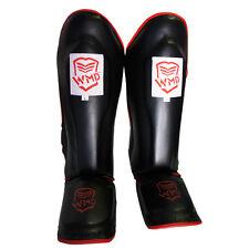 Kick Boxing Mma Shin Guards Shinguard Instep Leg Pads Thai