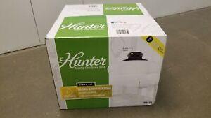 Hunter Original Traditional Schoolhouse Globe Light Kit, Black