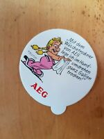 """Asterix    -Sammelaufkleber  80 er Jahre-    von Firma AEG  """"Hermine"""""""