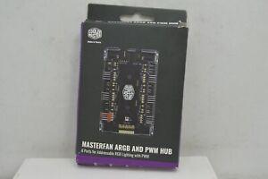 Cooler Master Masterfan ARGB and PWM hub 6 Port for Adressable RGB Lighting