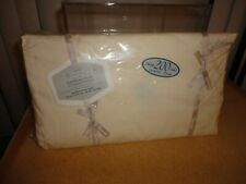 New Wamsutta Supercale Plus Tan / Ivory/ Vanilla Full Double Fitted Sheet $45.00
