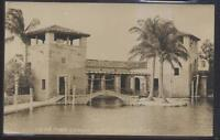 RP Postcard CORAL GABLES Florida/FL  Venetian Casino Pool Watch Towers 1920's