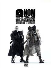 Ashley Wood WWR 1/6  threea 3a Nom commander 8th anniversary night + Day  set