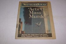 Newsday September 12, 2001 Newspaper
