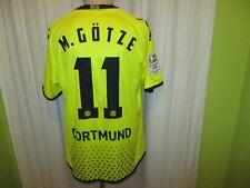 "Borussia dortmund Kappa maestro camiseta 2011/12 ""cátodos"" + nº 11 m. Götze talla L-XL"