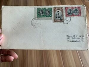 VINTAGE POSTAL HISTORY OF CANADA DATED 1939