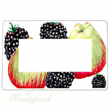 36 x  Apple and Blackberry Jar Labels , Jam Labels, Pie Labels - FREE DELIVERY