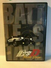 Initial D Battle Stage  Anime Dvd