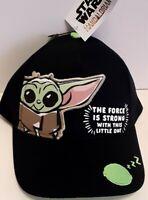 Baby Yoda Disney Star Wars The Madalorian Boy Snapback Cap Hat Birthday Gift New