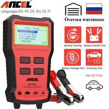 12V Automotive Car Battery Tester 220Ah Charging Cranking Test Analyzer 2000CCA