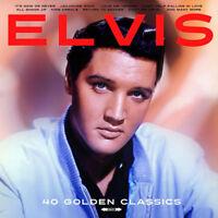 "Elvis Presley : 40 Golden Classics VINYL 12"" Album 2 discs (2018) ***NEW***"