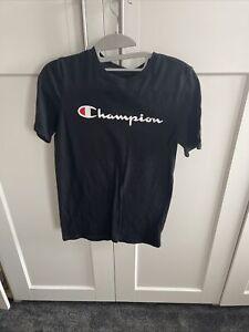 Boys Champion T-shirt Age 12-13 Years