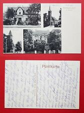 AK HERMANNSDORF bei Breslau um 1916 Warenhandlung Schilg, Kirche   ( 30525
