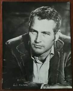 Paul Newman Black & White Vintage Promotional Photograph