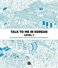 Talk To Me In Korean Level 1 Book Hangul Hangeul for beginners Grammar Textbook