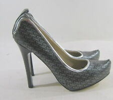 "new ladies Rocawear Perri Black/Gray 5""High Heel Pointy Toe Sexy Shoes Size 7.5"