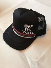 VANS JT BRANDED OFF THE WALL BLACK TRUCKER CAP SNAPBACK BRAND NEW ONE SIZE