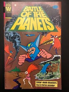Battle of the planets Whitman comics 9 western 1980 2 3 4 5 6 7 8