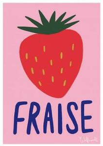 Fraise Art Print