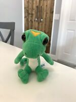 "GEICO GECKO Plush Stuffed Animal Doll Toy Advertising Promo 6"" Lizard Rare"