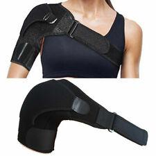 Magnetic Shoulder Support Strap Neoprene Brace Dislocation Injury Arthritis Pain