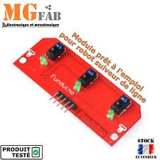 Module capteur détecteur infrarouge IR suiveur ligne | TCRT5000 follower Arduino