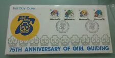 Willie: Singapore 75th Anniversary of Girl Guiding  FDC