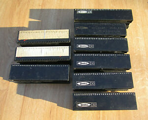Lot of 8 Yankee 30 Slide TRAY HOLDERS & 1 Yankee 36 Slide UNIVERSAL TRAY HOLDERS