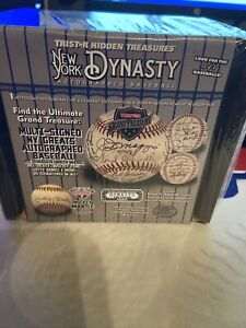 2021 Tristar Hidden Treasures Autographed Baseball New York Dynasty Edition Box