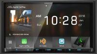 "Kenwood DMX905S 6.95"" WVGA DVD Receiver w/ Apple CarPlay & Android Auto"