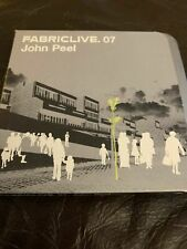 Fabriclive.07  - Live Mix At Fabric by John Peel, 2002 - RARE STEEL TIN EDITION