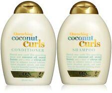 Organix Quenching Plus Coconut Curls Bundle, Shampoo & Conditioner, 13 Ounce Eac