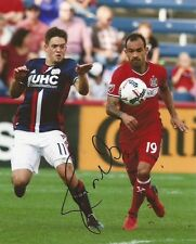 Juninho signed Chicago Fire MLS Soccer 8x10 photo autographed Brazil