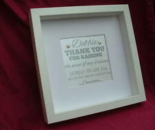 Personalised Mother of The Groom Thank You Gifts - Handmade Luxury Presents