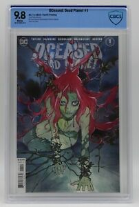 DCeased Dead Planet (2020) #1 Fourth Printing Momoko CBCS 9.8 Blue Lbl White Pgs