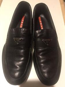 Lambskin Prada Loafers