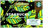 STARBUCKS COFFEE SEATTLE 2017 SPRING SEASON LIMITED RARE COLLECTIBLE GIFT CARD For Sale