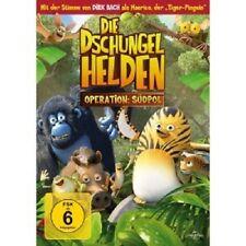 DIE DSCHUNGELHELDEN-OPERATION: SUEDPOL -  DVD NEUWARE DIRK BACH (SYNCHRONSPR.)