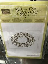 stamp in up sizzix big shot textured impressions holiday frame embossing folder