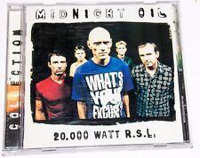 Midnight Oil - 20,000 Watt R.S.L. (CD, Columbia)