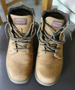 Sketchers Waterproof Walking Boots Relaxed Fit Memory Foam Size uk 8.5