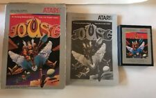Atari 2600 Joust Complete in Box w/ Manual Working Condition Tested Video Game